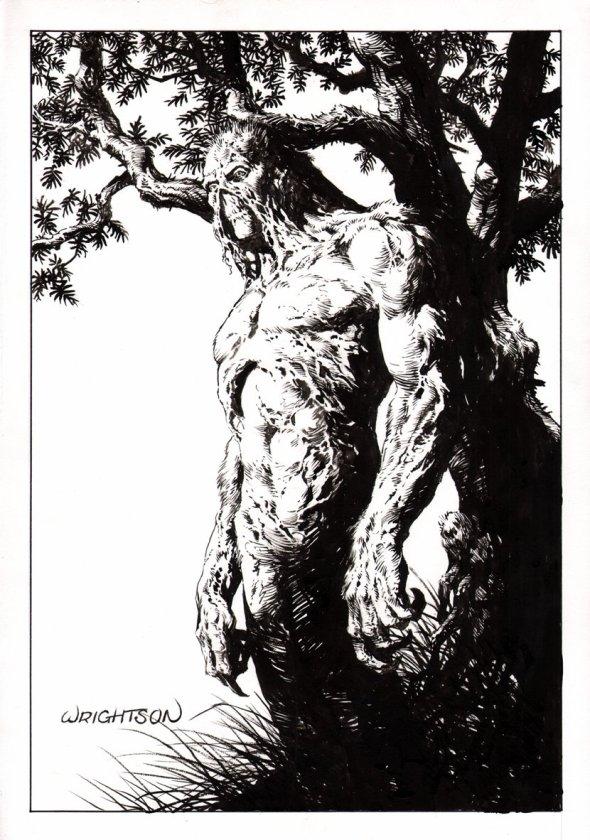 Wrighton Swamp Thing