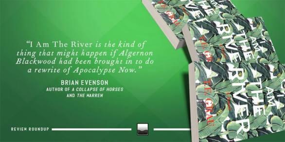 I Am The River - Brian Evenson Blurb